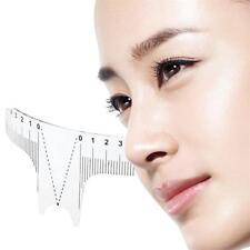 Reusable Semi Permanent Eyebrow Stencil Makeup Brow Measure Microblading Ruler A