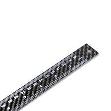 Real Carbon Fiber Ruler, 30cm/12in, Black Architect Ruler
