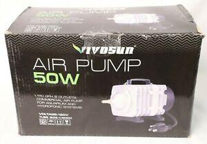 VIVOSUN 50W 1110 GPH Commercial Air Pump 8 Outlets Air Pumps for Aquarium