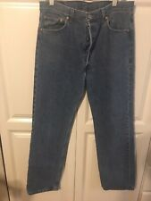 Men's 501 Levis 36 x 32 Jeans Made in USA