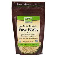 NOW Foods Pine Nuts, Raw Organic, 8 oz.