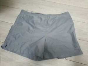 Vintage Fila Grey Shorts L Large Retro 1980s 80s fashion