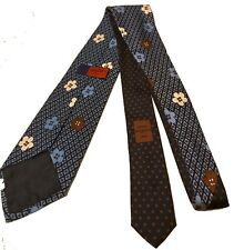 Ungaro Paris Silk Flower Pattern Tie RRP £150