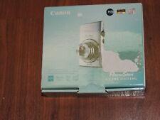 New in Open Box - Canon PowerShot Elph 310 12.1MP Camera - BLUE - 013803141436