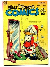 Walt Disney's Comics and Stories #99    Christmas Cover