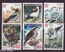 Bulgarien Nr.  3689-94  gest. Vögel