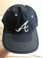 Atlanta Braves MLB Baseball Blue adjustable trucker hat baseball cap