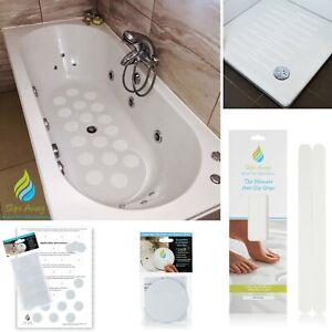 Non Slip Bath Mat Stickers,Anti Skid Shower Tray bathroom Strips,UK Best Seller