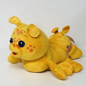 GRUBBY Friend Of Teddy Ruxpin Worlds Of Wonder CaterpillarHug N Sing Works