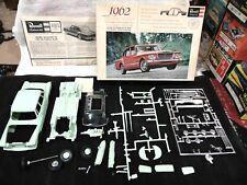 Revell 1962 Plymouth Valiant V-200 4 Door Sedan UNBUILT H-1250