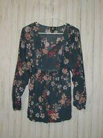 Bobeau Nordstrom Floral Print Boho Top Size Small
