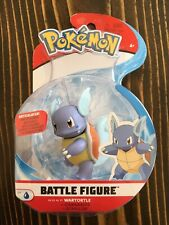 Pokemon Battle Figure Wartortle New In Box Squirtle Blastoise Wicked Cool Toys
