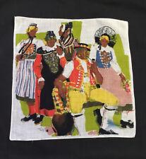 Vintage Handkerchief Hankie Pilgrim Folks Colony