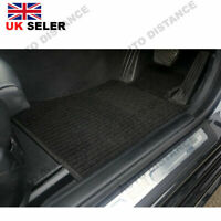 Tailored Black Carpet Car Mat With Heel Pad For Land Rover Discovery 4-7 Seats