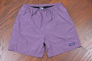 "Patagonia Baggies Lights Shorts 6.5"" Tyrian Purple Men's Large L"