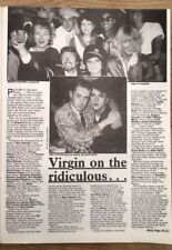 STEVE STRANGE & HOLLY JOHNSON 'get close' 1984 UK ARTICLE / clipping