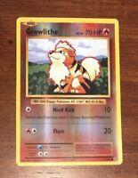 Pokemon XY Evolutions Growlithe 17/108  Common - Reverse Holo Card