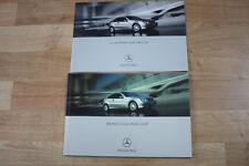 Mercedes-Benz C-Class Sports Coupe: UK Spec Sales Brochure & Price List 2001