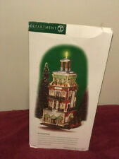 A9300 Dept 56 Christmas In The City Lighted 2000 PARAMOUNT HOTEL 58911 Retired