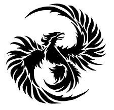 phoenix vinyl car Decal / Sticker