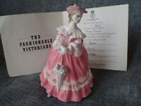 "Royal Worcester Figurine RW4580 1995 - ""LADY EMMA"" Includes Original Certificate"