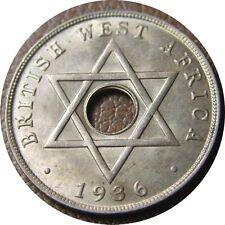 elf British West Africa 1 Penny 1936 H   Edward VIII