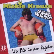 Mickie Krause - Wie Blei in Den Regalen EMI RECORDS CD 2006 RAR! OVP