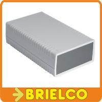 CAJA DE PLASTICO ABS PARA MONTAJES ELECTRONICOS 4 PIEZAS 158X95X47MM GRIS BD4664