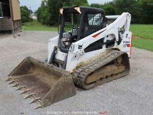 2019 Bobcat T770 Skid Steer Track Loader Crawler Tractor Aux Hyd Diesel bidadoo