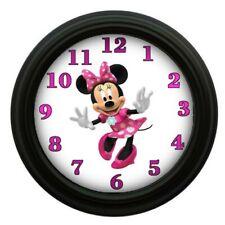 Minnie Mouse Clock Kids Room Decor Bedroom Decor Animation Disney