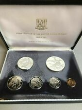 1973 British Virgin Islands 6 Coin Silver Proof Set in Original Case Lot#B721
