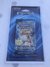 Booster Blister Pokemon Xy 12 Evolutions Neuf Scéllé Français Rare ! Ex Full Art
