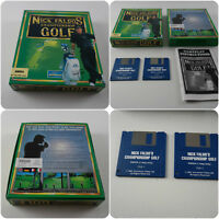 Championship Golf A Game for the Commodore Amiga Computer tested & working