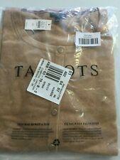 Talbots Charming Cardigan Sweater Sz 2X NWT Tan Camel Almond Ht Cotton Cashmere