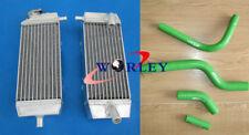 For KAWASAKI KXF250 KX250F 2004 2005 04 05 Aluminum Radiator & silicone hose