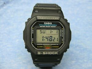 "Men's CASIO ""G-Shock"" Water Resistant Digital Watch DW-5600E w New Battery"
