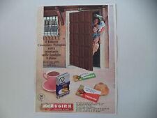 advertising Pubblicità 1965 PERUGINA CIOCCOLATO/NOCCIOLATO/CACAO