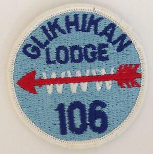 OA Glikhikan Lodge 106 R1 WHT Bdr. Two Rivers, Illinois [TK-479]