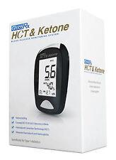 GlucoRx HCT & Ketone Meter Blood Glucose Monitoring System