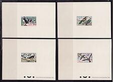 épreuve de luxe  faune oiseaux    1960   num: 1273/76