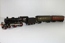 8596/5- Gesuperter Märklin Spur 1 Personenzug mit Dampflok E 65/13041