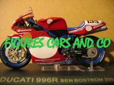 1/24 MOTO GP  SERIE 1 N°43 DUCATI  996R 2001 BEN BOSTROM   # 155  MOTORCYCLE