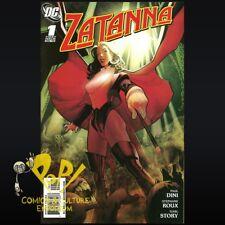 Zatanna #1 2010 Paul Dini DC COMICS First Printing NM- D032