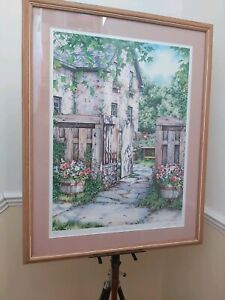 """Laura Berry Limited Edition Print, Signed 22 1/2"""" X 28 1/2"""", Perfect Condition"""