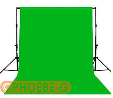 1.5m x 1m Photography Chromakey Backdrop Green 100% Cotton Muslin background