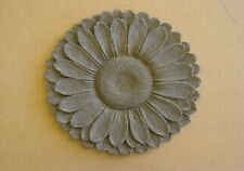 Floral Sunflower Flower Stepping Stone Plaster Concrete Mold 1144 Moldcreations