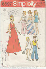 Barbie Julia Maddie Dusty  Wardrobe Simplicity Sewing Pattern 6697 11.5 in Dolls