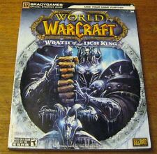 World of Warcraft Wrath of the Lich King Bradygames Strategy Guide SC