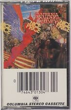 SANTANA: Abraxas SEALED Columbia US PCT 30130 Cassette Tape Psych Rock Latin