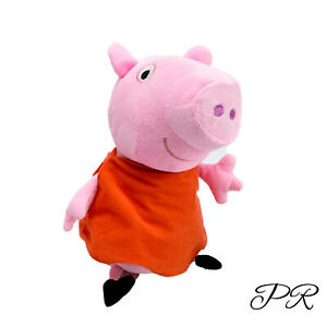 Peppa Pig Red Dress Plush Washed & Clean Plush Stuffed Soft Toy 33cm Kids
